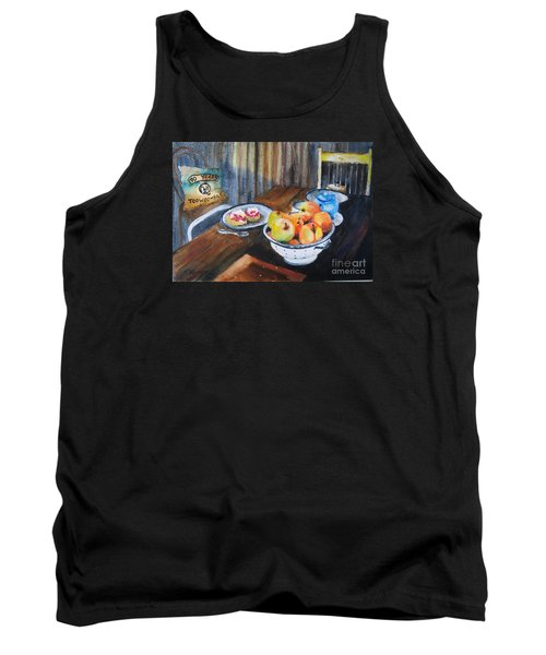Not Just Tea And Scones - Qcwa Toowoomba 90 Years Tank Top by Therese Alcorn
