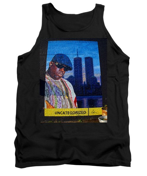 Notorious B.i.g. Tank Top by  Newwwman