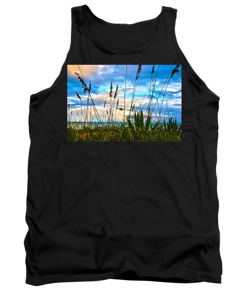 November Day At The Beach In Florida Tank Top