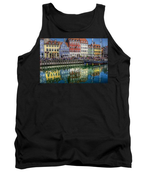 Nyhavn Harbor Area, Copenhagen Tank Top