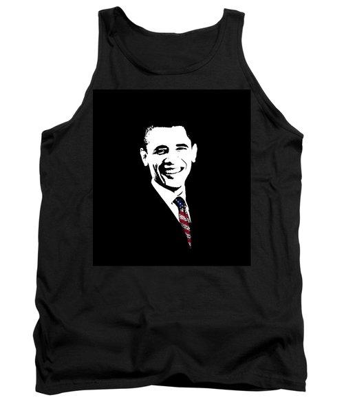 Obama Graphic Tank Top