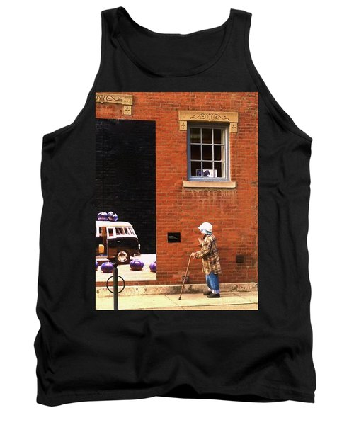 Observing Building Art Tank Top