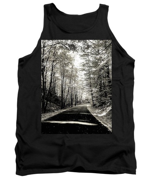 October Grayscale  Tank Top
