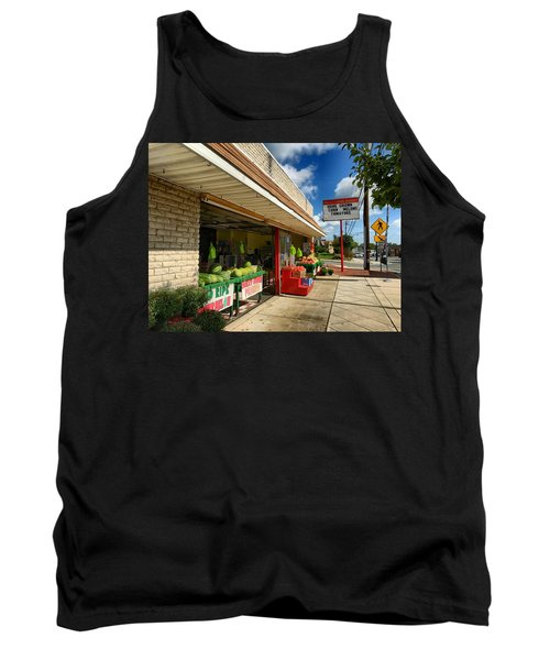Off To The Market Tank Top
