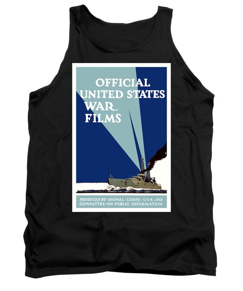 Official United States War Films Tank Top