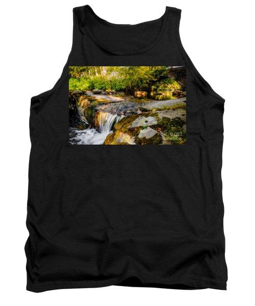 Ogwen Bank Waterfall  Tank Top