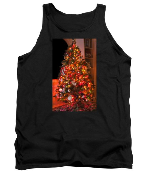 Tank Top featuring the photograph Oh Christmas Tree by Joan Bertucci