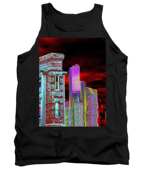 Old And New Seattle Tank Top
