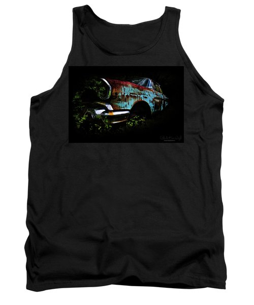 Old Blue Chevy Tank Top