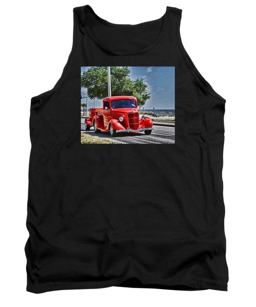 Old Car 2 Tank Top