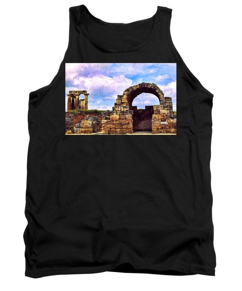 Tank Top featuring the photograph Old Corinth Shop by Trey Foerster