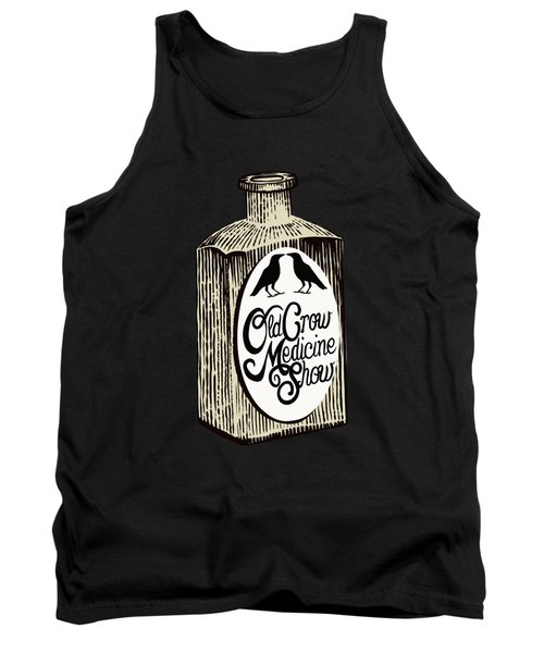 Old Crow Medicine Show Tonic Tank Top by Little Bunny Sunshine