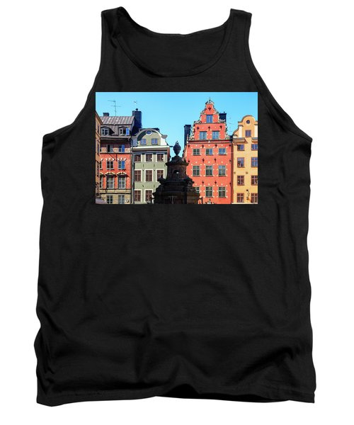 Old European Architecture Tank Top