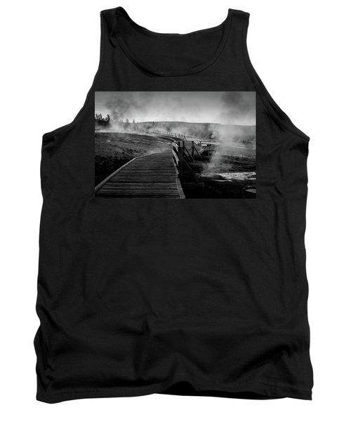 Old Faithful Boardwalk Tank Top