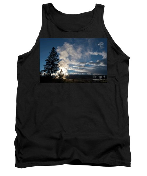 Old Faithfull At Sunset Tank Top