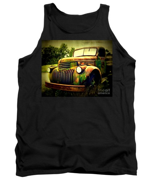 Old Flatbed 2 Tank Top by Perry Webster