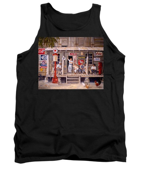 Old Friends Tank Top by Alan Lakin
