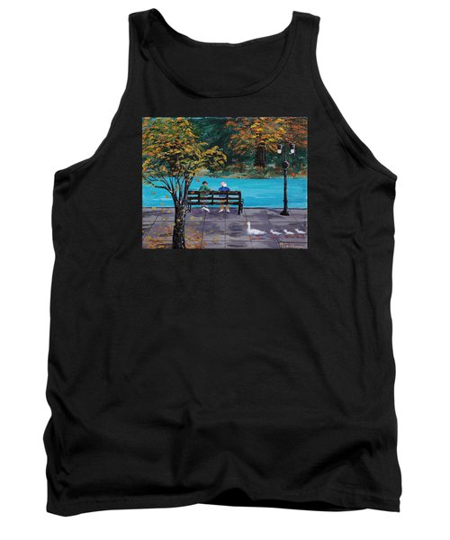 Old Friends Tank Top by Mike Caitham
