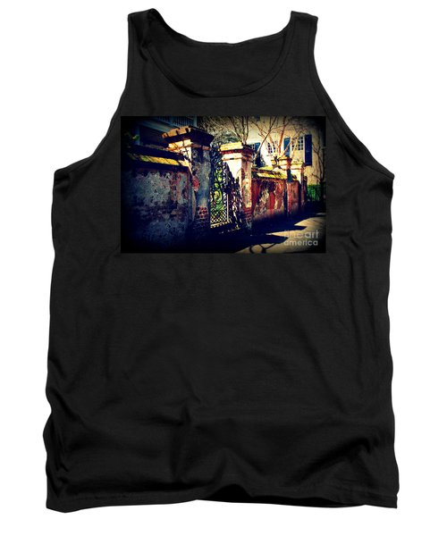 Old Iron Gate In Charleston Sc Tank Top