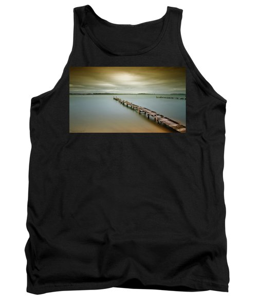 Old Jetty 0010 Tank Top by Kevin Chippindall