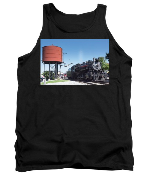 Old Number 90 Steam Engine Tank Top