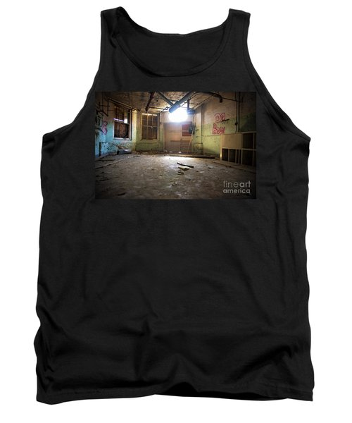 Tank Top featuring the photograph Old Paint Shop by Randall Cogle