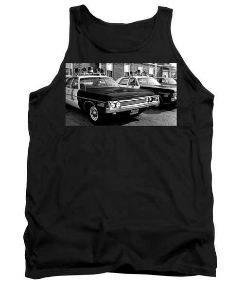 Old Police Car Tank Top by Paul Seymour
