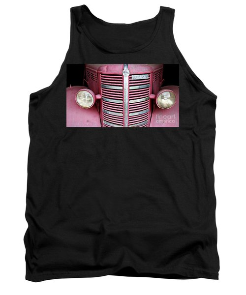 Tank Top featuring the photograph Old Red by Stephen Mitchell