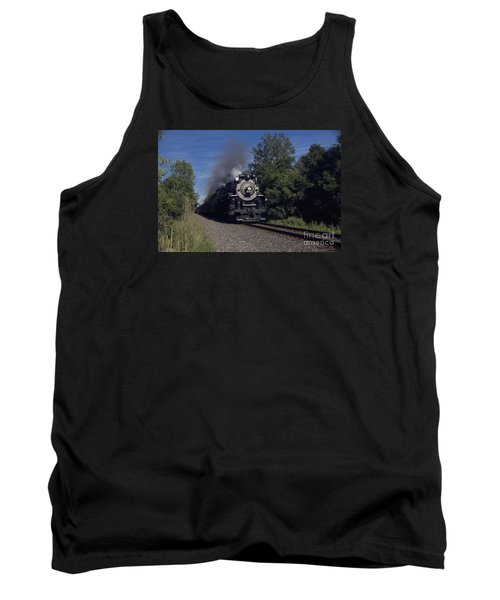 Tank Top featuring the photograph Old Steamer 765 by Jim Lepard