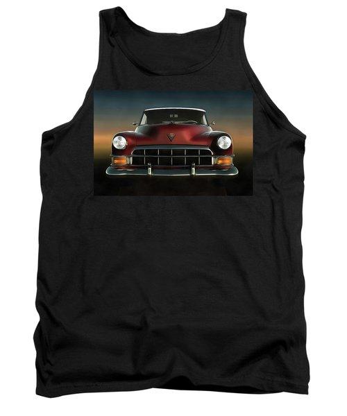 Old-timer Cadillac Convertible Tank Top