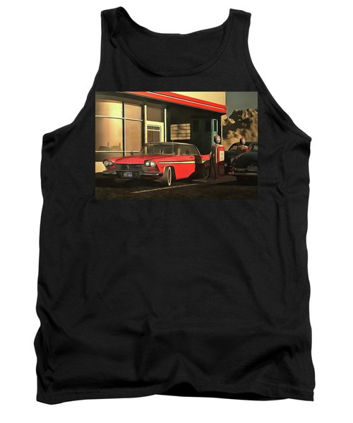 Old-timer Plymouth Tank Top