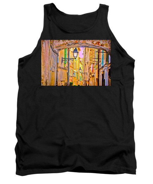 Old Town Nizza, Southern France Tank Top