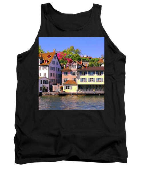 Old Town Zurich, Switzerland Tank Top