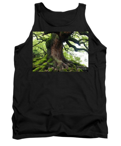 Old Tree In Kyoto Tank Top