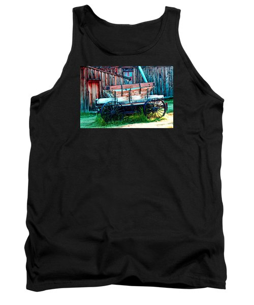 old Wagon In Bodie Tank Top