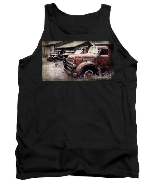 Old Work Trucks Tank Top