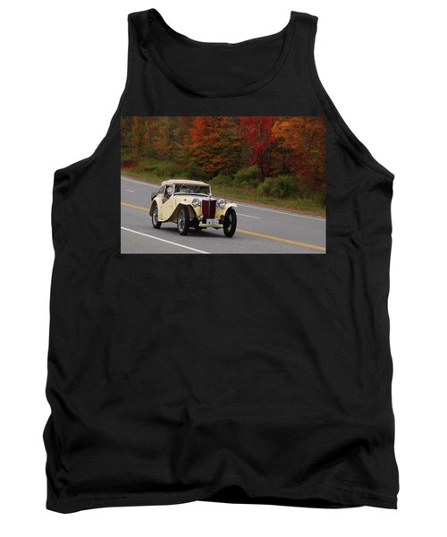 Tank Top featuring the photograph Old Yeller 8168 by Guy Whiteley