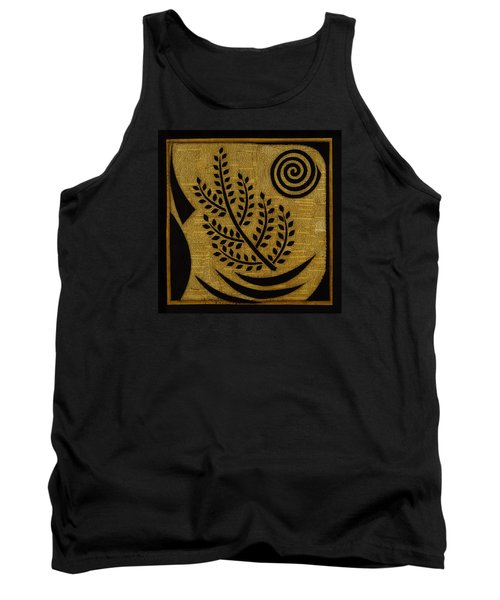 Tank Top featuring the mixed media Olive Branch by Gloria Rothrock