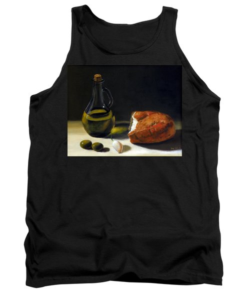 Olive Oil And Bread Tank Top