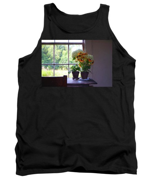 Olson House Flowers On Table Tank Top