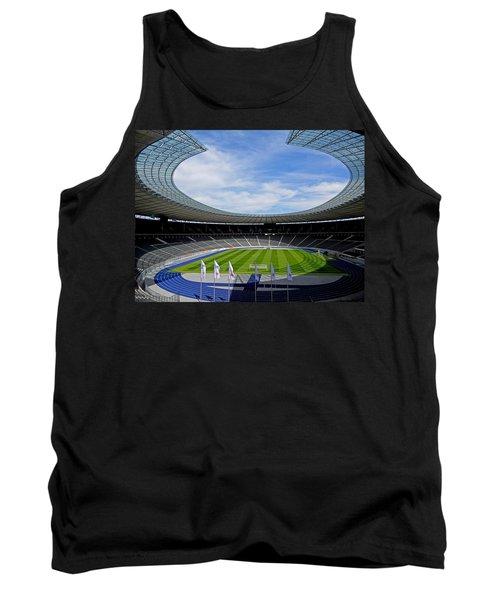 Olympic Stadium Berlin Tank Top by Juergen Weiss