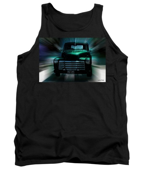 On The Move Truck Art Tank Top