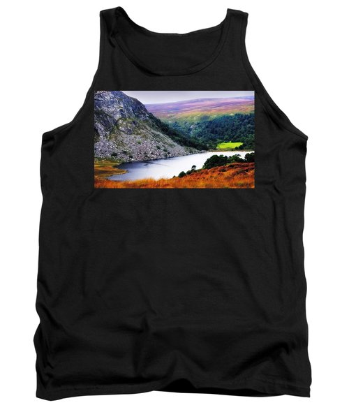 On The Shore Of Lough Tay. Wicklow. Ireland Tank Top