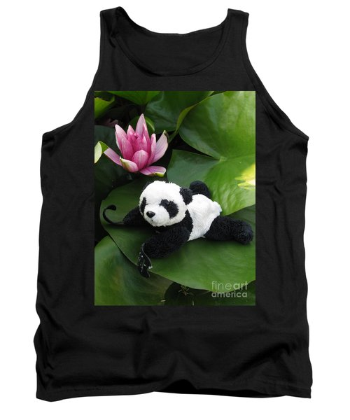 Tank Top featuring the photograph On The Waterlily by Ausra Huntington nee Paulauskaite