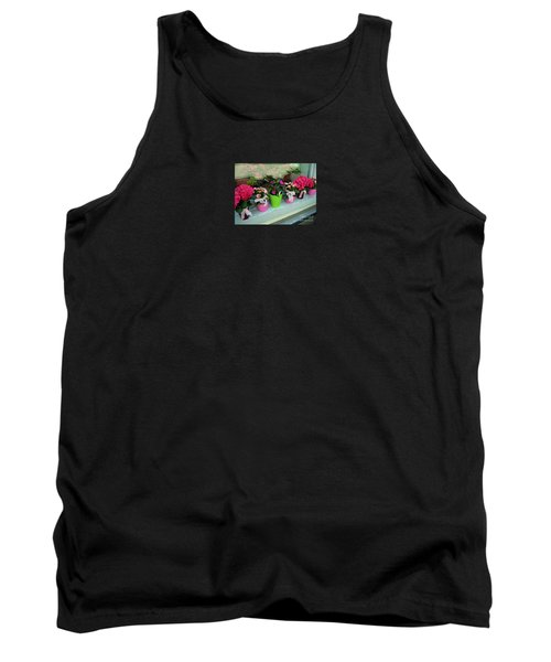 Tank Top featuring the photograph One For You - One For Me by Susanne Van Hulst