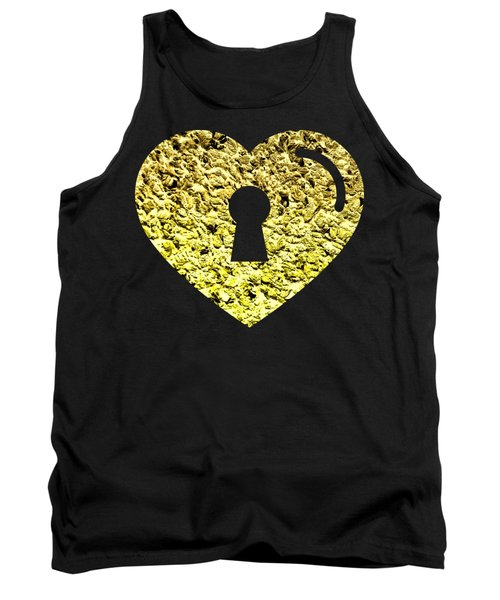 One Heart One Key 2 Tank Top