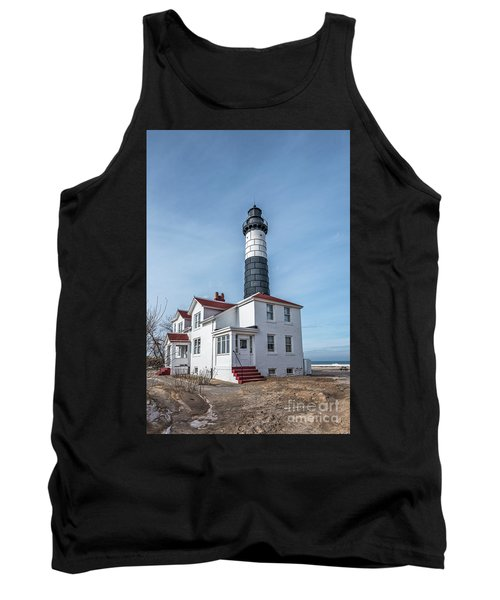 One Hundred Twelve Foot Lighthouse Tower Tank Top