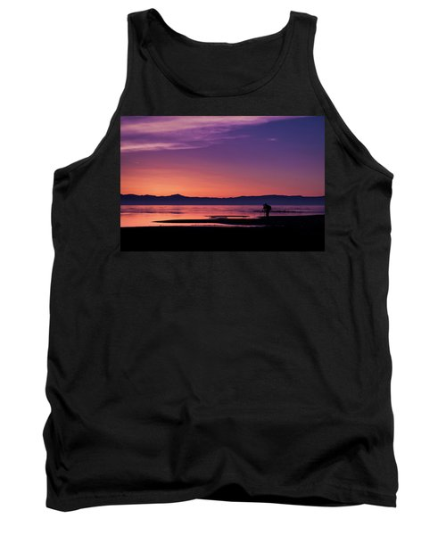 One More Shot Tank Top by Ralph Vazquez