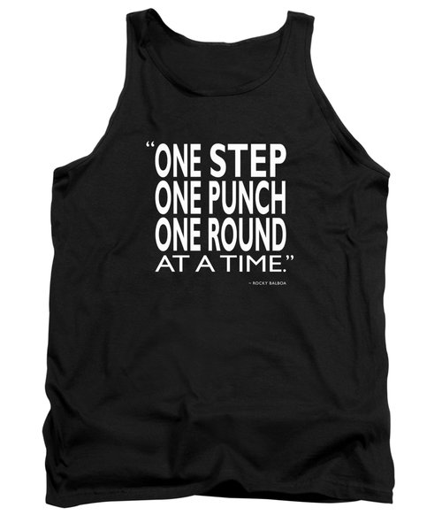 One Step One Punch One Round Tank Top