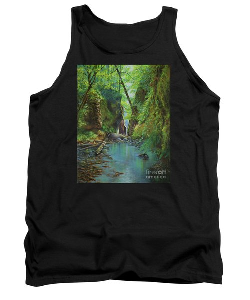 Oneonta Gorge Tank Top by Jeanette French